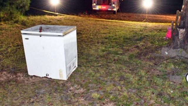 Três crianças morreram nos EUA depois de se fecharem em arca frigorífica