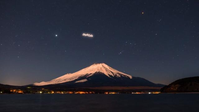 Startup russa quer exibir anúncios no céu noturno