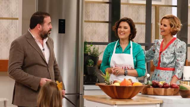 Cristas foi cozinhar para Cristina Ferreira e acabou a ser surpreendida