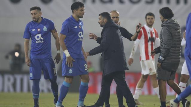 A reação de Pepe após a estreia no regresso ao FC Porto