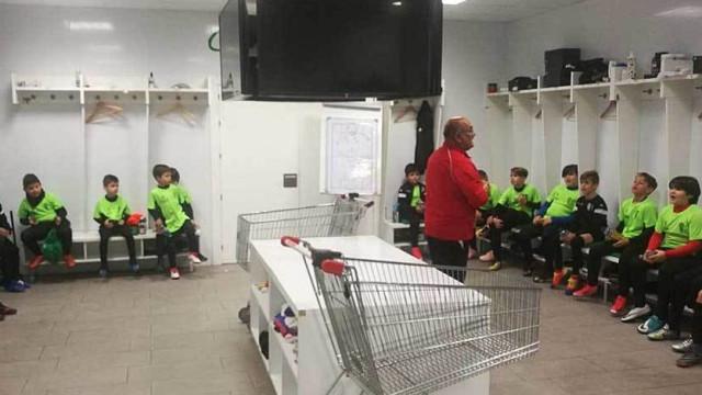 Equipa espanhola de sub-11 venceu por 31-0 e... foi repreendida