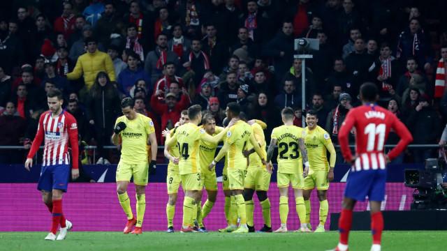 Ex-avançado dos leões elimina o Atlético de Madrid da Taça do Rei