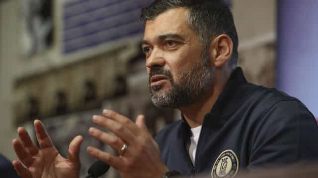 """Sérgio Conceição e o dérbi: """"Se ganhar o Sporting, ninguém fica chateado"""""""