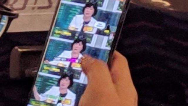 O Galaxy S10+ foi avistado num autocarro na Coreia do Sul
