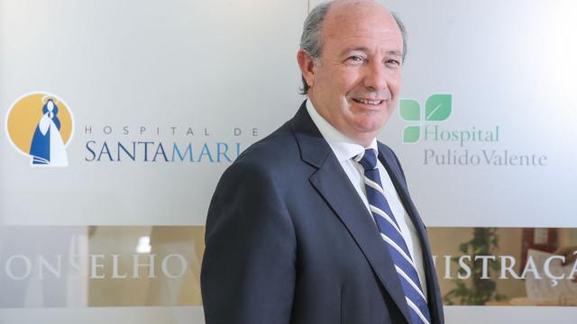 Presidente do Centro Hospitalar de Lisboa Norte será substituído