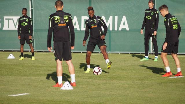 Idrissa Doumbia estreou-se nos treinos e já escolheu o número
