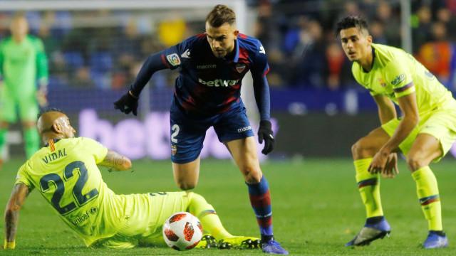 Levante já apresentou queixa formal à Federação contra o Barcelona