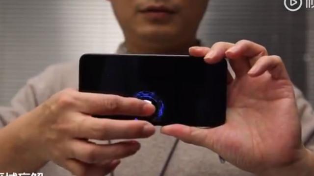 Xiaomi exibe ecrã com maior sensor de impressões digitais