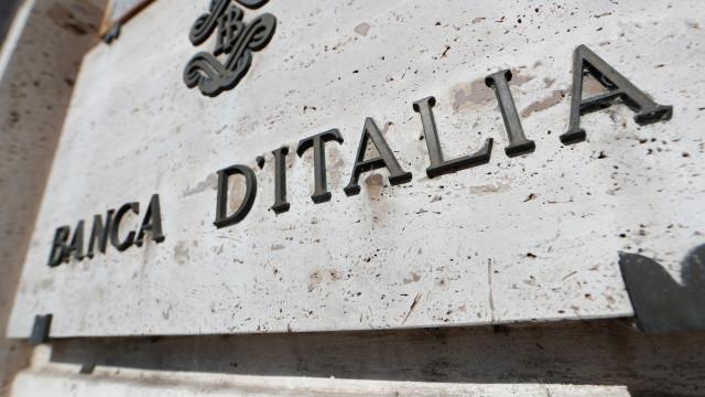 Banco de Itália baixa para 0,6% a previsão de crescimento para este ano