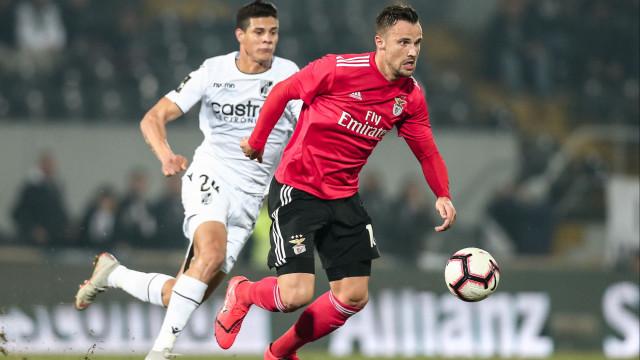 Benfica procura repetir triunfo da Taça no castelo vimaranense