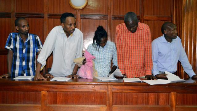 Seis suspeitos do ataque no Quénia foram presentes a tribunal