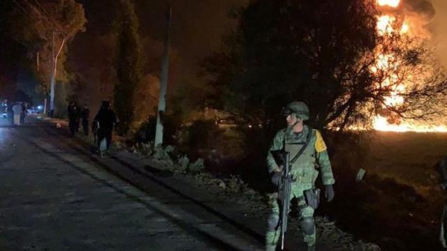 Sobe para 66 o número de mortes em explosão em oleoduto no México