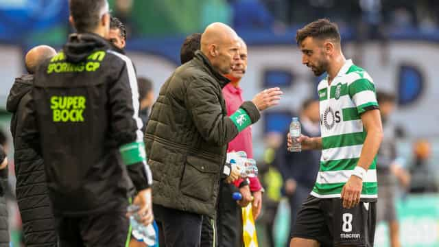 [2-0] 'Míssil' de Bruno Fernandes amplia vantagem do Sporting