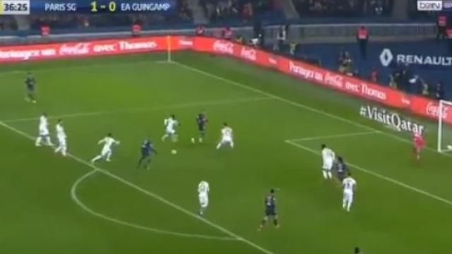 Neymar e Mbappé fabricaram um golo ao 'som' do... taki-taki
