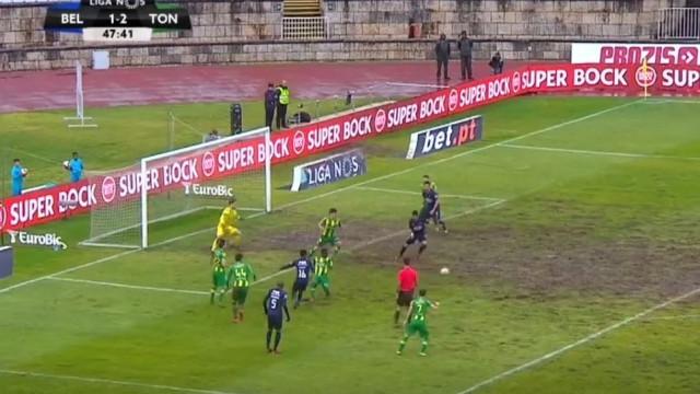 Jamor num estado lastimável viu o empate entre Belenenses SAD e Tondela