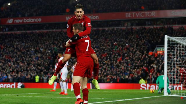 Liverpool vence jogo de loucos frente ao Crystal Palace
