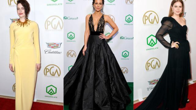 Producers Guild Awards 2019: Os vestidos que marcaram a noite