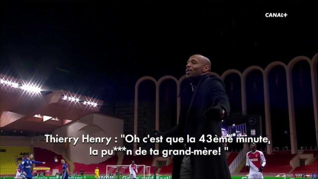 Henry perde a cabeça e insulta avó de jogador do Estrasburgo