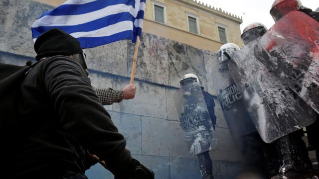 Confrontos em Atenas por causa da mudança de nome da Macedónia