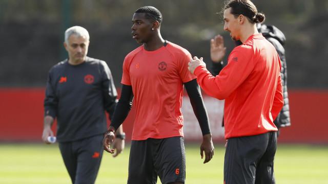 Ibrahimovic revela o que falhou entre Mourinho e Pogba