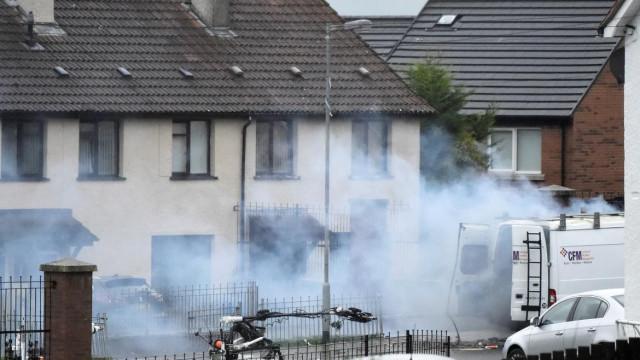 Autoridades explodem veículo que tinha sido roubado em Londonderry