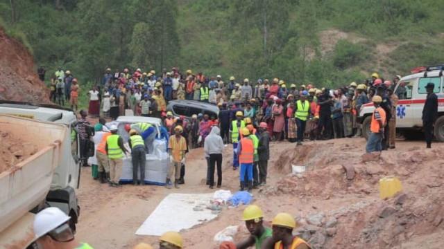 Catorze mortos em colapso de mina no Ruanda
