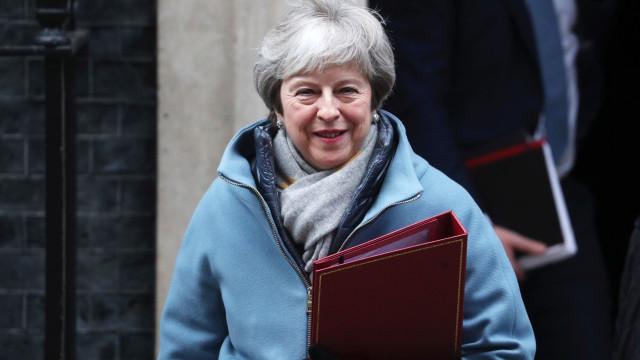 May levou ao parlamento o plano A 2.0