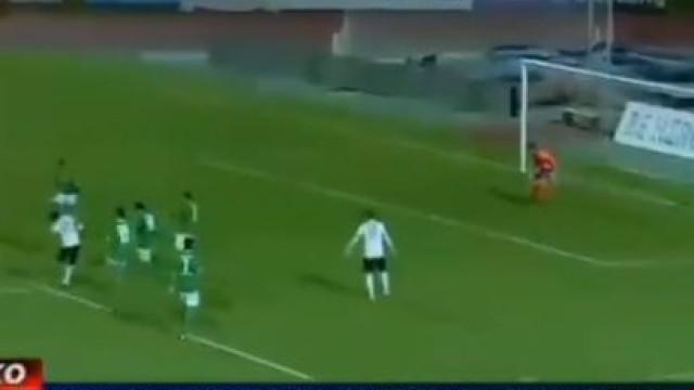 Português Fábio Vieira aponta golo espetacular no Chipre