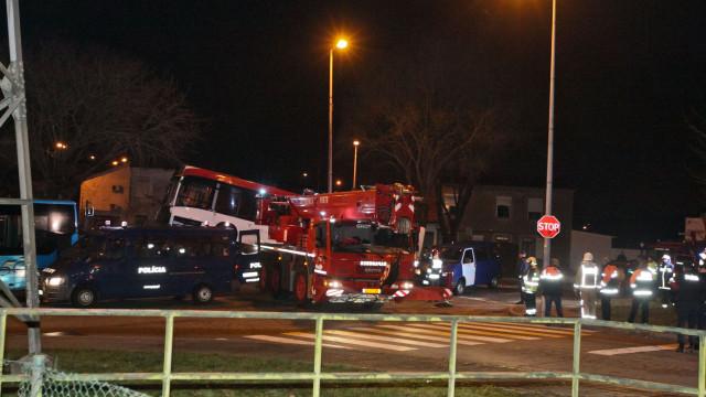 """Matosinhos remete para """"autoridades competentes"""" inquérito a acidente"""