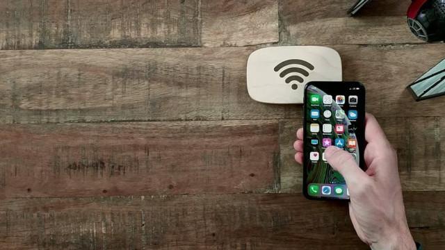 No futuro só precisará deste pedaço de madeira para se ligar à Internet