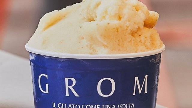 Gelataria GROM lança nova criação única de pera italiana