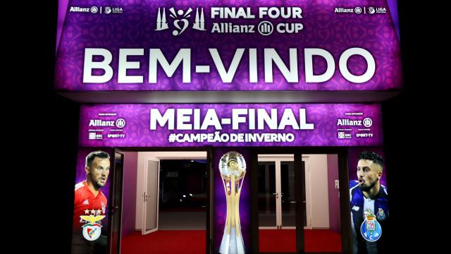 Benfica-FC Porto: Já há onzes oficiais