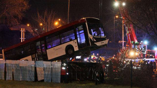 Local da colisão em Matosinhos teve 27 acidentes entre 2009 e 2017