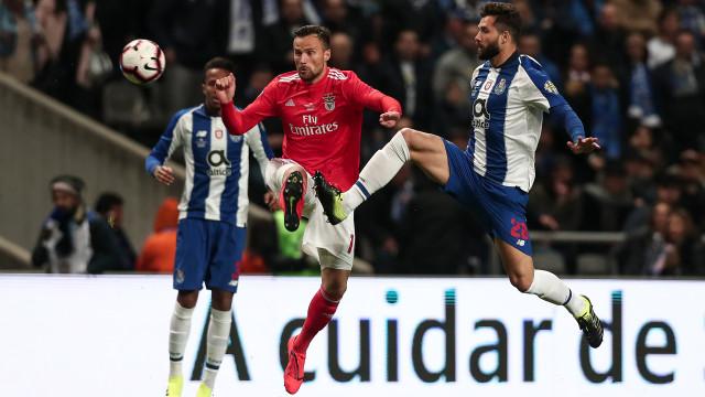 [1-2] Benfica-FC Porto: Já se joga a segunda parte