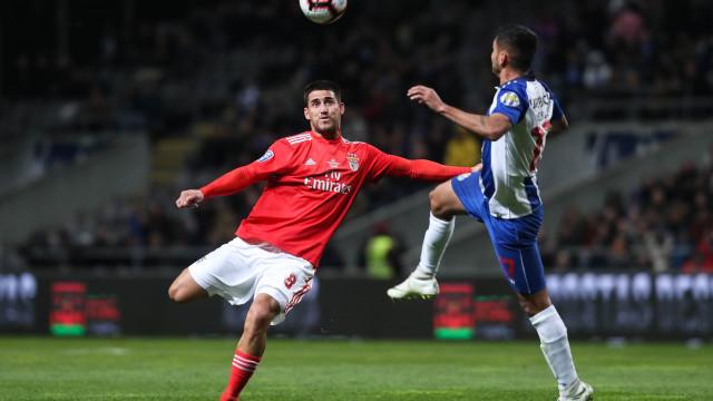 [1-2] Benfica-FC Porto: Jogo muito intenso em Braga