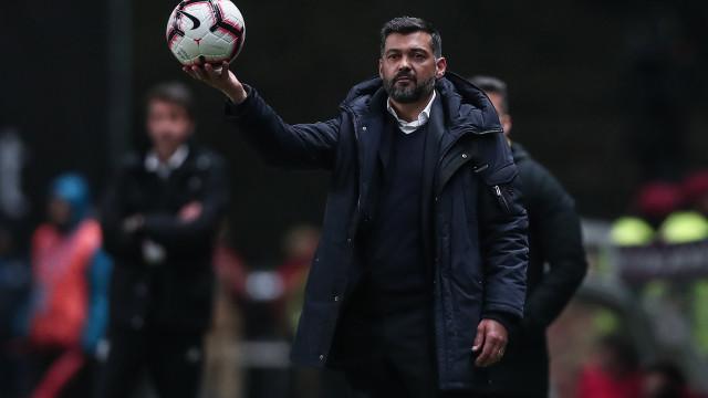 """Sérgio Conceição emocionado: """"Podia falar de touradas..."""""""