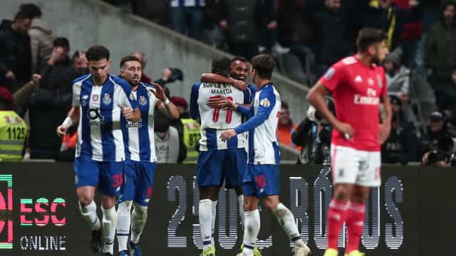 Dragão de Conceição venceu velho rival e quebrou enguiço na Taça da Liga