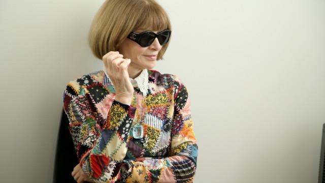 Anna Wintour, editora da Vogue, comenta vestido de noiva de Meghan Markle