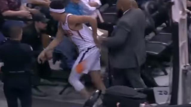 Tensão e ameaças na NBA: Booker e Dieng queriam continuar no balneário