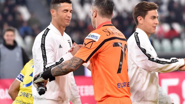 Sorrentino explica como travou o penálti de Cristiano Ronaldo