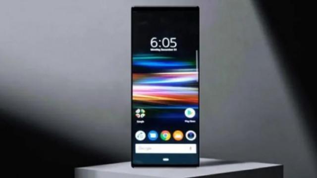 O topo de gama da Sony pode ter sido mostrado pela primeira vez