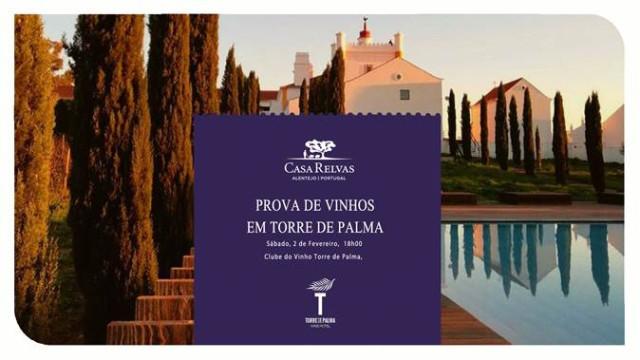Casa Relvas à prova no Clube do Vinho do Torre de Palma Wine Hotel