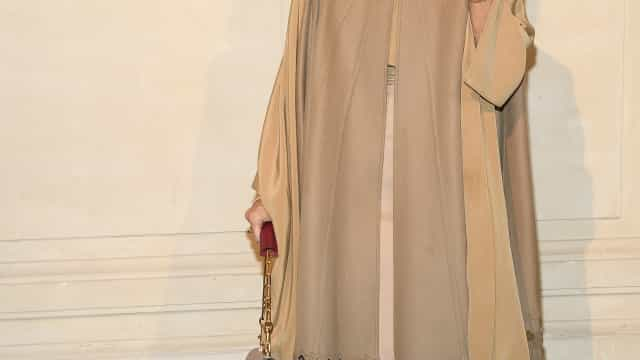 Céline Dion emociona-se em pleno desfile na Semana de Moda de Paris