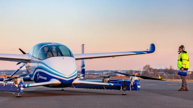 Avião autónomo da Boeing passou no primeiro teste de voo