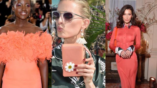 Living Coral: As celebridades que já brilharam com a cor do ano