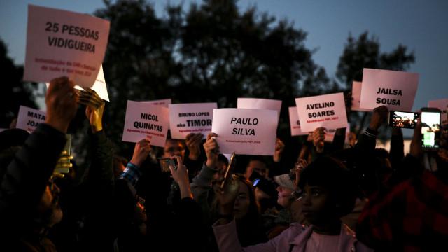 Protesto no Seixal decorreu pacificamente mas com poucos moradores
