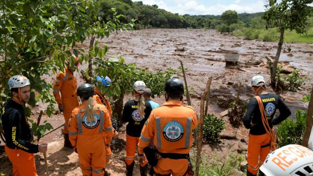Já são 40 as vítimas mortais da rutura da barragem do Brumadinho