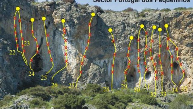 Praticante de escalada sofre queda em Sesimbra