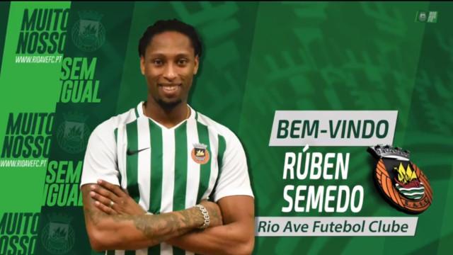 """R. Semedo estreou-se pelo Rio Ave: """"É uma oportunidade na minha carreira"""""""