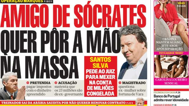 Hoje é notícia: Ditado fim a 70 mil baixas; Portuguesas pagas para casar